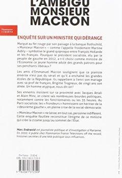 Livres Couvertures de L'ambigu Monsieur Macron