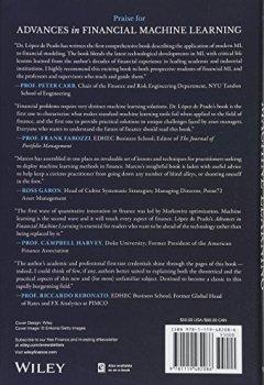 Livres Couvertures de Advances in Financial Machine Learning