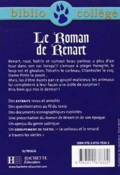Livres Couvertures de Le roman de Renart