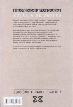 Portada del libro deFollas novas (Edición Literaria - Biblioteca Das Letras Galegas)