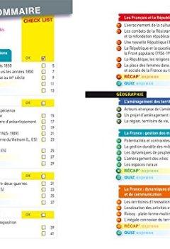 Livres Couvertures de Fiches bac Histoire-Géographie 1re L, ES, S: fiches de révision Première séries générales