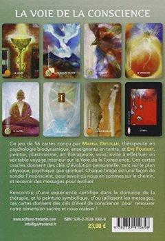 Livres Couvertures de La voie de la conscience : Les cartes du voyage intérieur. Avec 56 cartes