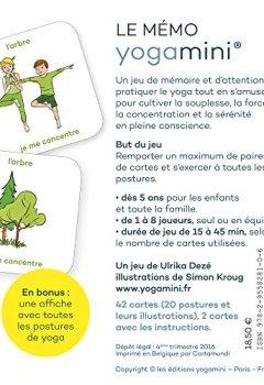 Livres Couvertures de Le Mémo Yogamini, Le Yoga des Petits