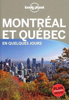 Livres Couvertures de Montréal et Québec En quelques jours - 3ed