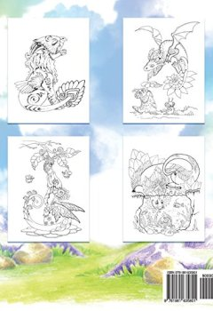 Livres Couvertures de Adult Coloring Book: Nice Little Dragons