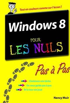 Livres Couvertures de Windows 8 Pas à Pas Pour les Nuls