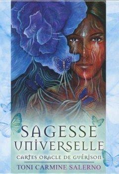 Livres Couvertures de Sagesse universelle : Cartes oracle de guérison