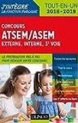 Concours ATSEM/ASEM - Externe, interne, 3e voie - 2018-2019 - Tout-en-un