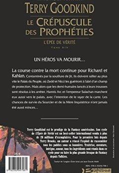 Livres Couvertures de L'Épée de Vérité T14 Le Crépuscule des Prophéties