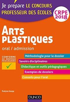 Livres Couvertures de Arts plastiques - Oral / admission - CRPE 2018