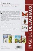 Livres Couvertures de Insectes de France et d'Europe