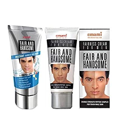 Emami Fair & Handsome Face Wash and Cream combo