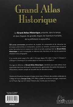 Livres Couvertures de Grand Atlas Historique - Edition 2011