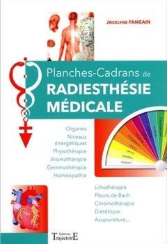 Livres Couvertures de Planches-Cadrans de radiesthésie médicale