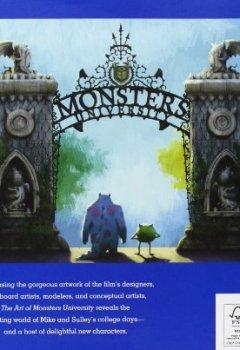 Livres Couvertures de The Art of Monsters University