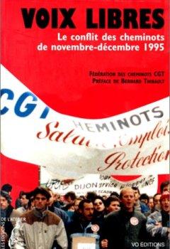 Livres Couvertures de Voix libres. Le conflit des cheminots de nov.-dec. 1995