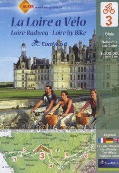 Livres Couvertures de La Loire à Vélo : Blois-Belleville-sur-Loire, 1/100 000