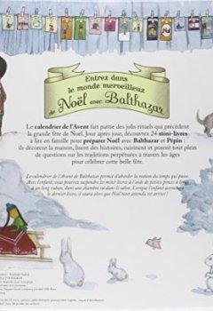 Livres Couvertures de Calendrier de l'avent - Balthazar prépare Noël