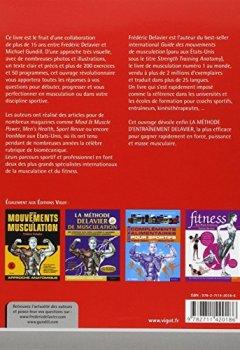 Livres Couvertures de La Methode Delavier de musculation chez soi