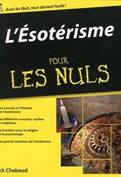 Livres Couvertures de L'Esotérisme Pour les Nuls