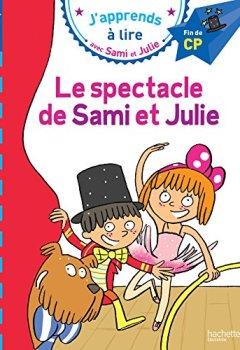 Livres Couvertures de Sami et Julie CP Niveau 3 Le spectacle de Sami et Julie