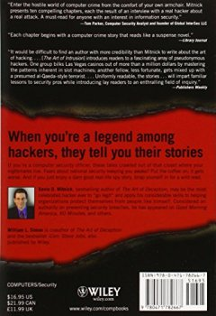 Livres Couvertures de The Art of Intrusion: The Real Stories Behind the Exploits of Hackers, Intruders and Deceivers