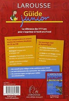 Livres Couvertures de Mon Guide junior : Vocabulaire, expression écrite et orale