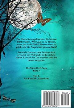 Buchdeckel von Am Rand der Abendwelt (Die Sumpfloch-Saga 7)