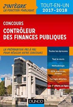 Livres Couvertures de Concours Contrôleur des finances publiques - Tout-en-un - 2017-2018