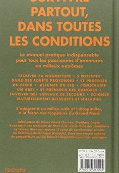 Livres Couvertures de Comment survivre dans les bois: La référence absolue de l'aventure extrême