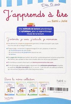 Livres Couvertures de J'apprends à lire avec Sami et Julie