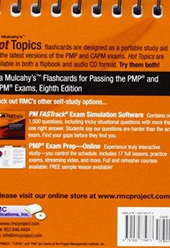 Livres Couvertures de Rita Mulcahy's Hot Topics Flashcards for Passing the PMP and CAPM Exams