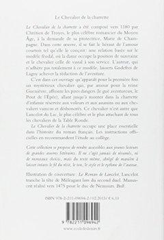 Livres Couvertures de Le Chevalier de la charrette