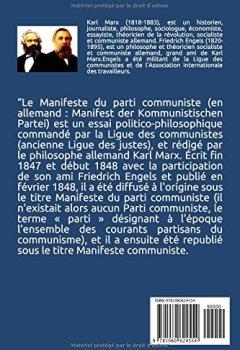 Livres Couvertures de Manifeste du parti communiste (illustré)