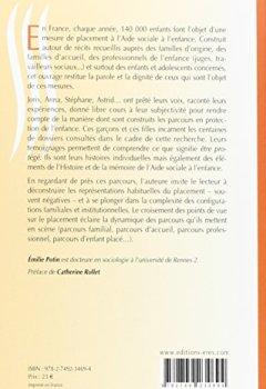 Livres Couvertures de Enfants placés, déplacés, replacés : parcours en protection de l'enfance