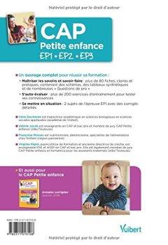 Livres Couvertures de CAP Petite enfance - Épreuves professionnelles - Préparation complète pour réussir les EP1, EP2 et EP3