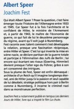 Livres Couvertures de Albert Speer