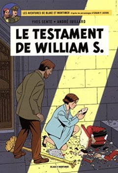 Livres Couvertures de Blake & Mortimer - tome 24 - Testament de William S. (Le)