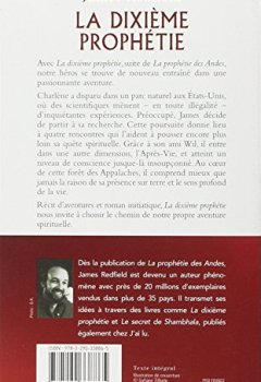 Livres Couvertures de La dixième prophétie - L'accomplissement des neuf révélations et la découverte des clés de l'après-vie