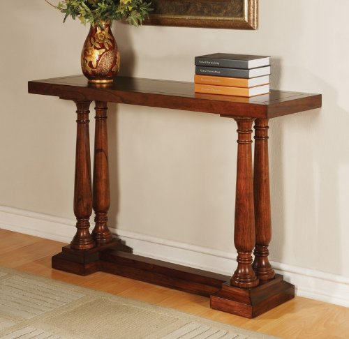 Image of Powell Antique Mahogany Console Table (670-225)