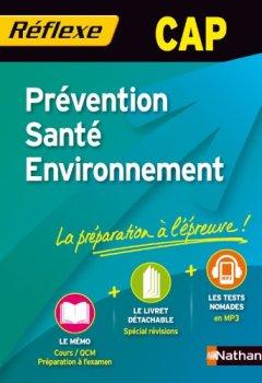 Livres Couvertures de Prévention Santé Environnement - CAP