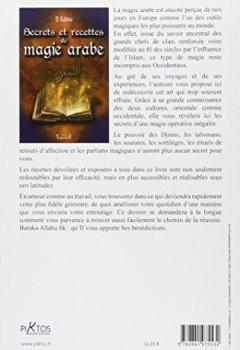 Livres Couvertures de Secrets et recettes de magie arabe