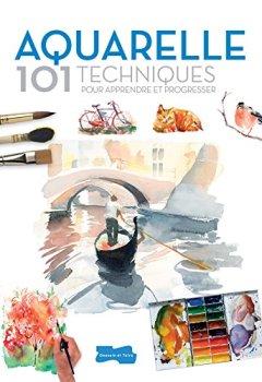 Livres Couvertures de Aquarelle 101 techniques pour apprendre