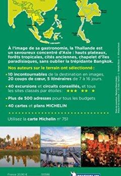 Livres Couvertures de Guide Vert Thaïlande Michelin
