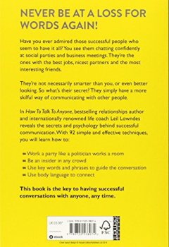 Livres Couvertures de How to Talk to Anyone: 92 Little Tricks for Big Success in Relationships