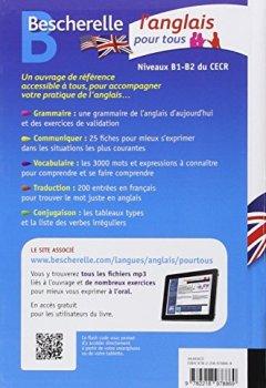 Livres Couvertures de Bescherelle L'anglais pour tous: Grammaire, Vocabulaire, Conjugaison...