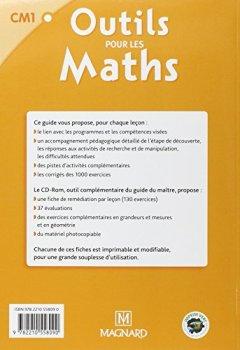 Livres Couvertures de Outils pour les Maths CM1 : Guide du maître (1Cédérom)