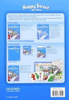 Livres Couvertures de Happy Street 1 new edition Class Book
