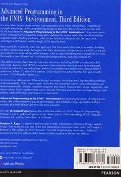 Livres Couvertures de Advanced Programming in the UNIX Environment