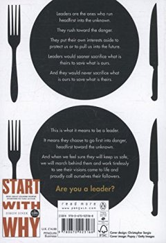 Livres Couvertures de Leaders Eat Last: Why Some Teams Pull Together and Others Don't